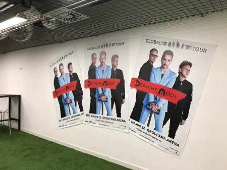 depeCHe MODE - Meet & Greet Room - Budapest - 2017